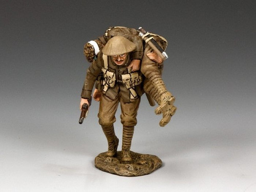 King & Country Soldiers FW195-NSW First World War Wounded 1/30 Scale Collectible