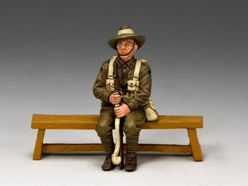 King & Country GA009-NSW Sitting Anzac