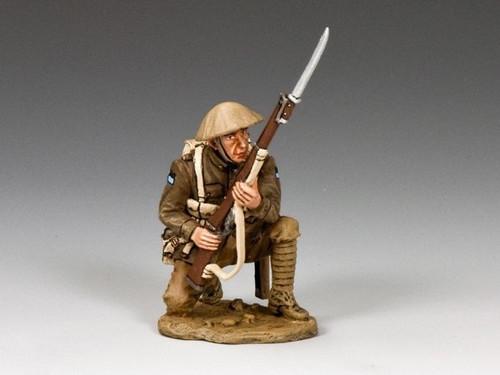 King & Country Soldiers FW192-Q World War I Kneeling Firing (Queensland)