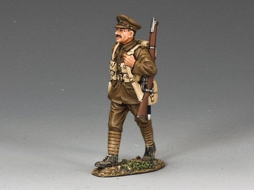 King & Country Soldiers FW145M World War I Marching 1/30 Scale Collectible