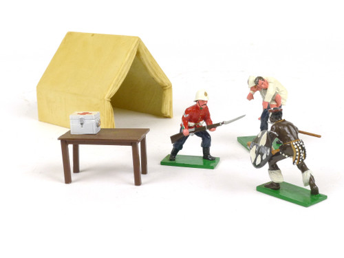 Trophy Miniatures ZSB07 24th Foot Medical Tent Under Attack Zulu Wars