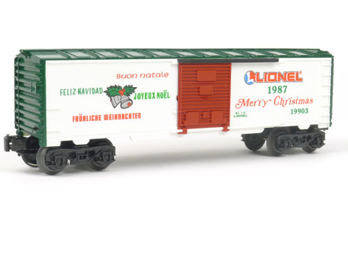Lionel Trains 1987 Christmas Boxcar O Gauge 6-19903