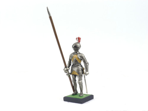 Alymer Military Miniatures 050/3 French Warrior With Armour and Lance