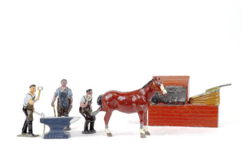 Johillco John Hill & Co .Toy Soldiers and Figures Blacksmith Set