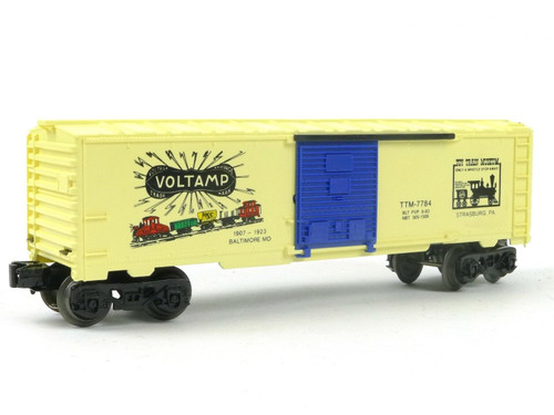 Lionel TTM-7784 TCA Museum Voltamp Box Car 6-7784 O Gauge Trains