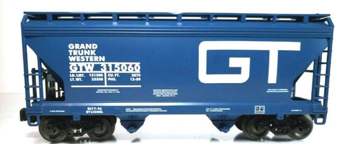 Lionel Trains 6-16812 Grand Trunk 2-Bay ACF Hopper LOTS 1996