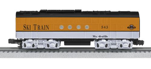 Lionel Trains 6-38214 Rio Grande Ski Train Nonpowered FT Diesel B-Unit O Gauge