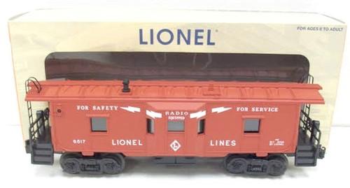 Lionel Trains 6-29722 Lionel Lines Bay Window Caboose 6517
