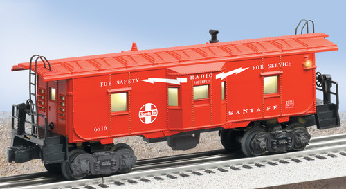 Lionel Trains 6-29711 Archive Collection Santa Fe Bay Window Caboose 6516