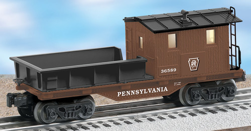 Lionel Trains 6-36589 Pennsylvania Work Caboose O Gauge