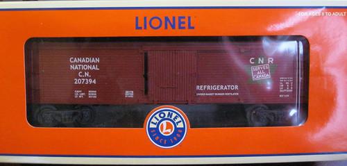 Lionel Trains 6-26178 Canadian National Woodsided Refrigerator Car 207394