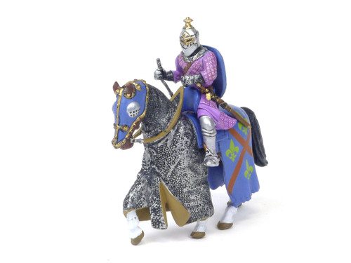 Alymer Heraldic Knights Medieval Knights Historical Figures Mounted Knight 54mm