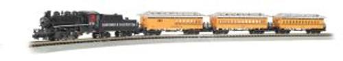 Bachmann Trains 24020 N Durango & Silverton Steam Passenger Set/4-6-0