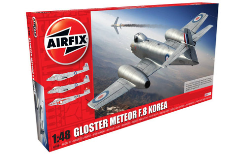 Airfix A09184 Gloster Meteor F8 Korea 1:48 Plastic Model Kit