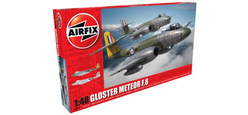 Airfix A09182 Gloster Meteor F8 1:48 Plastic Model Kit