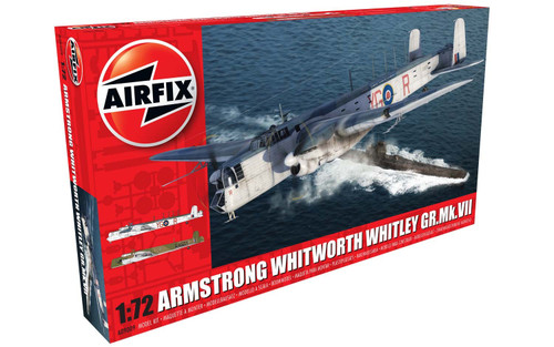 Airfix A09009 Armstrong Whitworth Whitley GR.MK.V11 1:72 Plastic Model Kit