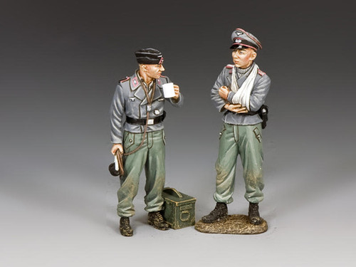 King & Country WH089 WWII Wehrmacht Dismounted Assault Gun Crew No 1