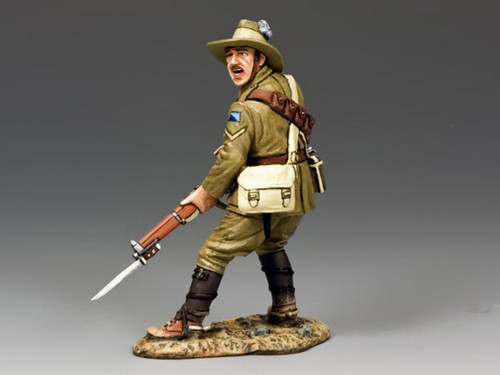 King & Country AL043 WWI Australian Light Horse Standing Loading With Rifle