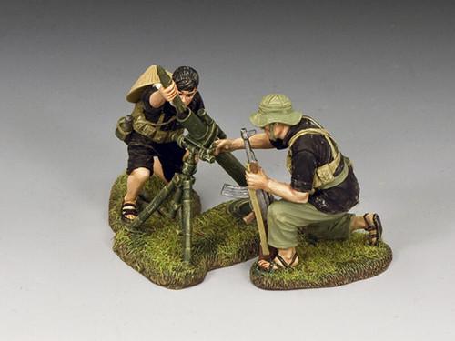 King & Country Soldiers VN088 Vietnam War The Viet Cong Mortar Set