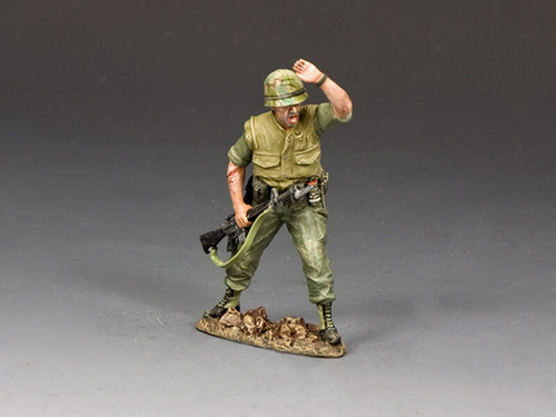King & Country Soldiers VN090 Vietnam War Shouting NCO