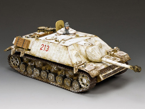King & Country Soldiers BBG119 WWII Battle Of The Bulge Winter Jagdpanzer IV