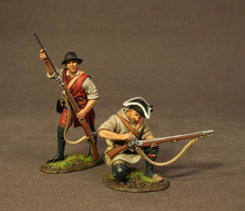 John Jenkins DAM-06B American Revolution Drums Along The Mohawk Two Civilians