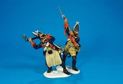 John Jenkins Designs LEUT-09 Prussian Grenadiers