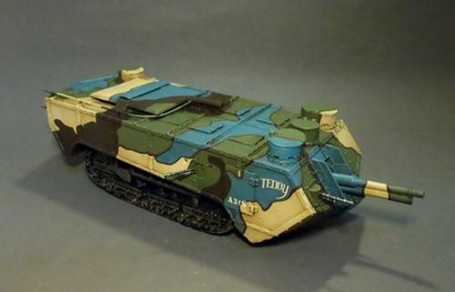 John Jenkins Designs GWF-02 The Great War Saint Chamond Tank Early Version