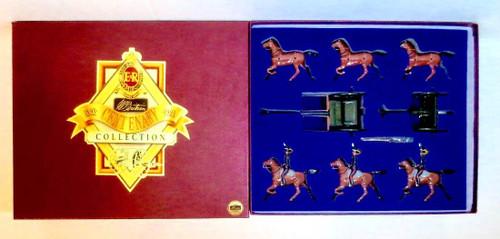 W Britain Collection 8825 Gun Team Royal Horse Artillery King's Troop