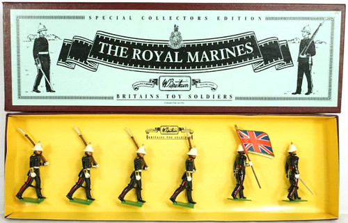 Britains Toy Soldiers 8855 Special Collectors Edition The Royal Marines