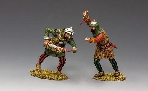 King & Country Soldiers MK134 Crusaders And Saracens, Saracens Assassins