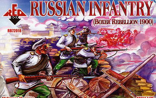 Red Box RB72018 Russian Infantry Boxer Rebellion 1/72 Scale Plastic Model Kit