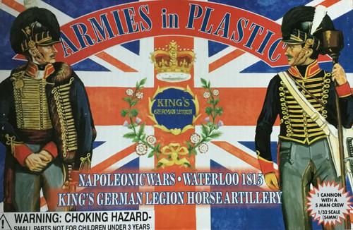Armies In Plastic 5434 Napoleonic Wars King's German Legion Horse Artillery