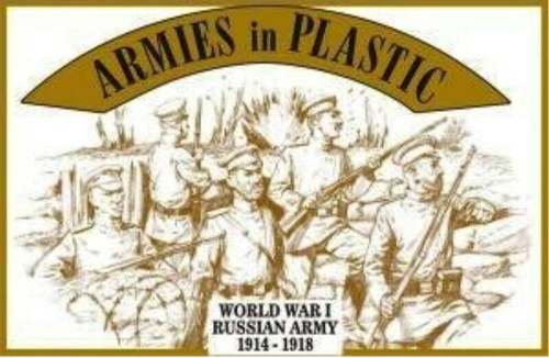 Armies In Plastic 5484 World War I Russian Army 54mm Plastic Toy Soldiers