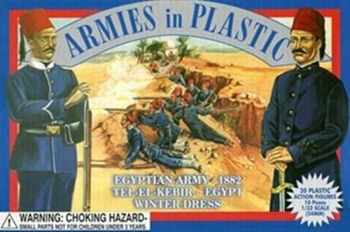 Armies In Plastic 5427 Egyptian Army 1882 Tel-El-Kebir Egypt Winter Dress 54mm