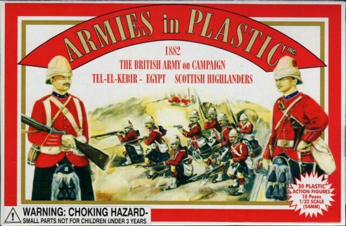 Armies In Plastic 5416 British Army On Campaign Tel-El-Kebir Egypt Scottish