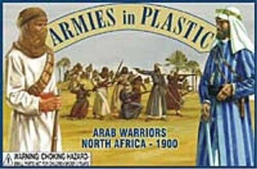 Armies In Plastic 5443 Arab Warriors North Africa 1900 54mm Plastic Toy Soldiers