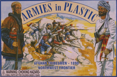 Armies In Plastic 5462 Afghan Tribesmen 1890 NW Frontier 54mm Toy Soldiers