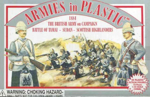 Armies In Plastic 5417 British Army On Campaign Battle Of Tamai Scottish Hghldrs