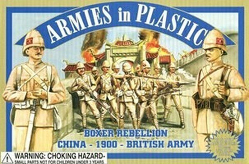 Armies In Plastic 5420 Boxer Rebellion China 1900 British Army 54mm Toy Soldiers