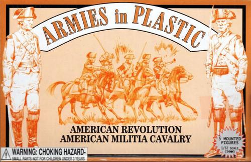 Armies In Plastic 5468 American Revolution American Militia Cavalry 54mm