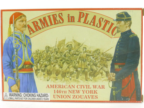 Armies in Plastic 5436 Union Zouaves Plastic Toy Soldiers
