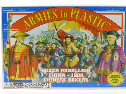 Armies In Plastic 5413 Boxer Rebellion China - 1900 Chinese Boxers Red