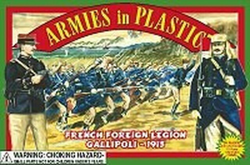 Armies In Plastic 5419A French Foreign Legion Gallipoli 1915 54mm Toy Soldiers