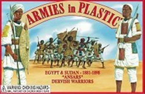 Armies In Plastic 5440 Egypt And Sudan Ansars Dervish Warriors 1881-1898
