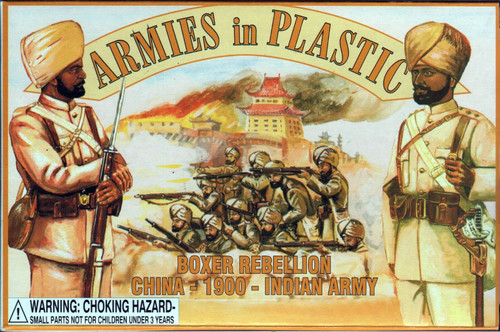 Armies In Plastic 5445 Boxer Rebellion China 1900 Indian Army Plastic Soldiers