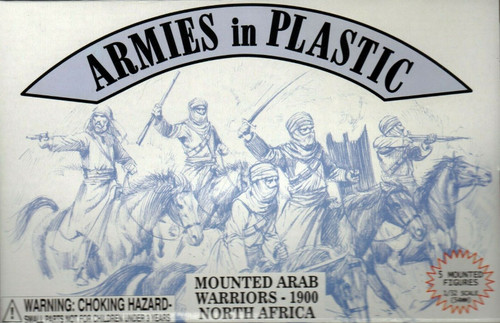 Armies In Plastic 5487 Mounted Arab Warriors 1900 North Africa 54mm Toy Soldiers