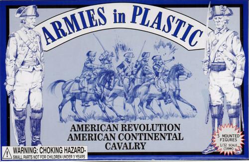 Armies In Plastic 5469 American Revolution American Continental Cavalry 54mm