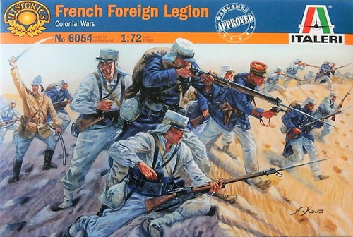 Italeri 6054 French Foreign Legion Soldiers 1/72 Scale Plastic Model Kit