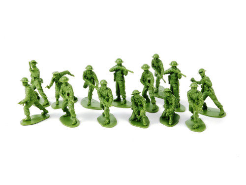 TATS US Infantry World War I 54mm Plastic Toy Soldiers Figures